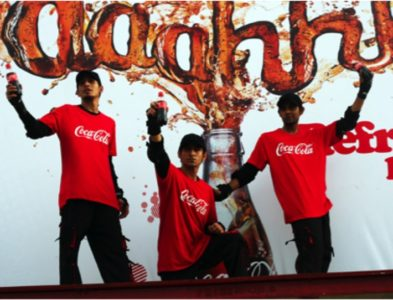 COKE – Pakistan's 1st LIVE Billboard
