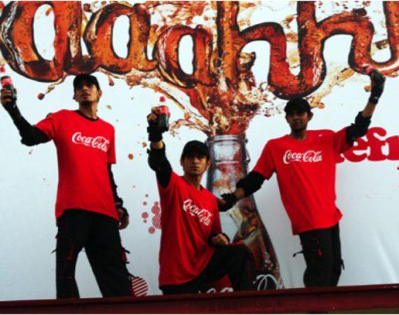 COKE – Pakistan's 1st LIVE Billboard
