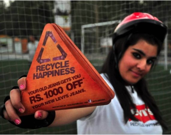LEVI'S – Recycle Happiness