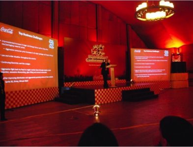 COCA COLA – 1st Annual Conference LHR
